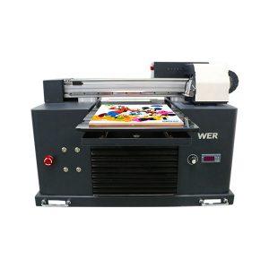 Specifikacije Upotreba: Kartica pisača za kartice Tip: Flatbed Printer Stanje: Novo Dimenzije (L * W * H): 65 * 47 * 43 CM Težina: 62kg Automatska klasa: Automatska Napon: AC220 / 110V Garancija: 1 godina Print Dimenzije: 16.5x30 CM , A4 SIZE Ink Tip: LED UV ink proizvodi naziv: Mali pisač A4 veličina Digitalna tiskarska mašina UV Flatbed Printer Ink: LED UV tinta Visina: 0-50mm Tintni sustav: CISS sustav Boje tinte: CMYKWW Broj mlaznica: 90 * 6 = 540 Softver za ispis: WINDOWS SYSTEM EXCEPT WIN 8 Voltage :: AC220 / 110V Bruto snaga: 30W