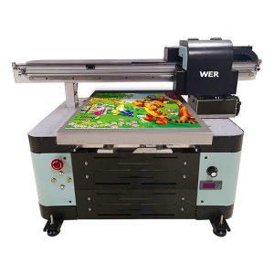 A2 digitalni plošni mali uv flatbed uv printer