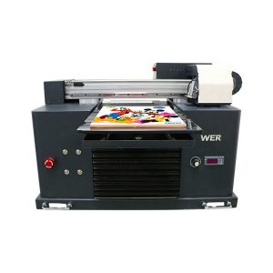 vruće prodaja a3 dx5 glava digitalni t-shirt uv flatbed tiskarski stroj