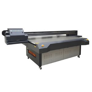 UV led ravna štampač sa 4 × 8 stopa sa konica & ricoh glavom za štampanje