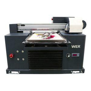 A4 flatbed dtg izravno na tekstilnu tiskarsku opremu t-shirt printer