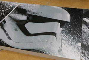 Bilbord štampan od strane WER-G2513UV UV štampača velikog formata
