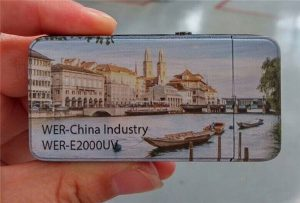 Električni upaljač je otisnut malim UV štampačem veličine A3 - WER-E2000UV