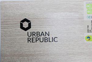 Štampanje logotipa na drvenim materijalima WER-D4880UV 2