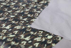 Štampanje tekstila uzorak 1 digitalnom mašinom za štampanje tekstila WER-EP7880T