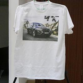Uzorak za štampanje bijelih majica od tiskare A3 WER-E2000T 2
