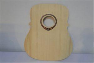 Uzorak gitare od A2 veličine UV pisača WER-DD4290UV